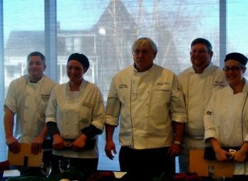 Chefs Battle in 2nd Annual Chopped Competition at Roger Williams