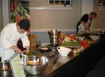 A Little Competition, Cinnamon, and Hollandaise: Lesley U Tackles the Food Challenge