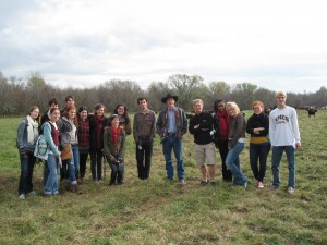 Macalester Students See Grass-Fed Ranching Firsthand