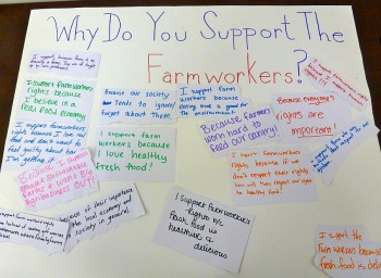 Students Share Why They Support Farmworkers