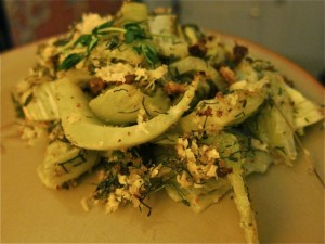 Recipe: Fennel Bulb and Frond Gratin