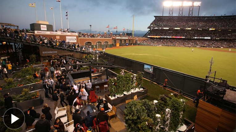 In World Series, Giants Field a Vegetable Patch