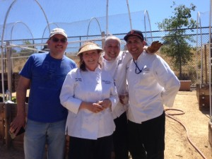 Executive Chef Melissa Miller and the SAP Garden team