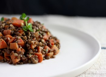 Recipe: Bistro Lentil Salad with Carrots and Dijon