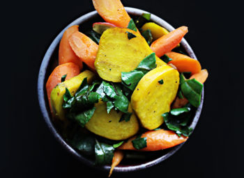 Recipe: Golden Beets with Carrots and Beet Greens