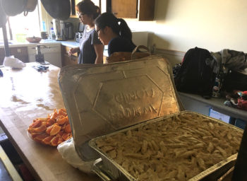 University of San Francisco's Food Recovery Network Chapter Feeds Community Four Times a Week