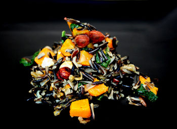 Recipe: Wild Rice with Butternut Squash, Spinach, and Toasted Hazelnuts
