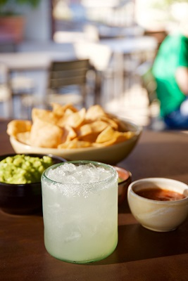 Margaritas and the famous guacamole at Arguello