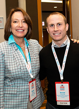 Dan and President and CEO of the Partnership for a Healthier America Nancy E. Roman
