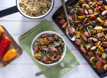 Wellness Tips: Sheet-Pan Suppers Save the Day