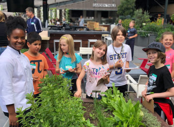 VIDEO: Local Top Chef Junior Finalist Visits the Garden at Oracle Park