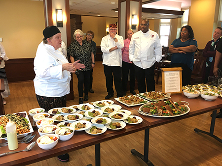 Colby College Chef/Manager Lydia Kumpa talks about her wheat berry and turkey croquettes