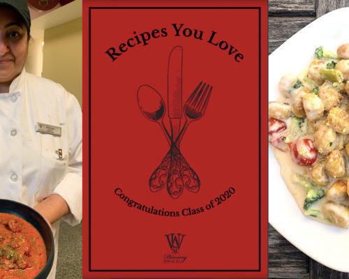 WUSTL Dining Team Sends Graduates on Their Way with Collection of Favorite Recipes