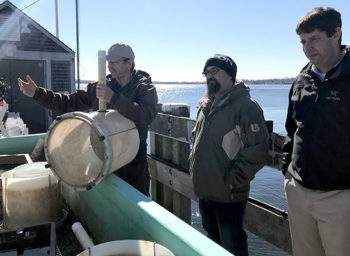 Roger Williams Shows Off Its Pearl of an Oyster Farm
