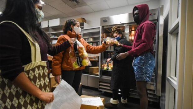 College Tackles Food Insecurity with On-Campus Food Pantry