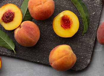 Life's a Peach: A Chef's Juicy Memory of Discovering America (with recipes!)