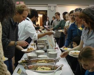 Oberlin Team Puts Together Local-Food Feast in Ohio — in March!