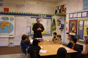 Future Chefs Learn from Executive Chef Mark Harris at Career Day