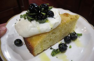 Lemon & Olive Oil Cake with Fresh Berries