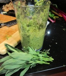 Walnut-Sage Pesto