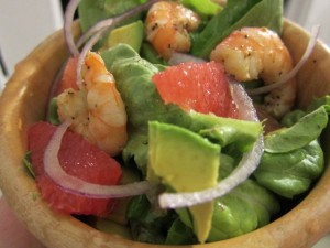 Recipe: Shrimp, Grapefruit, and Avocado Salad