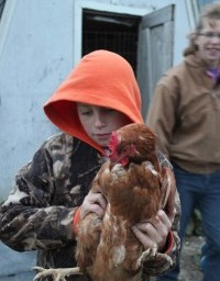 Carleton Students See a Family Farm First-hand