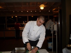 Vanguard Students Go Beyond Lemonade in Iron Chef Competition