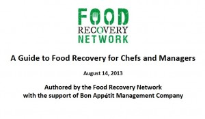 A New Weapon in the Fight Against Wasted Food: 'A Guide to Food Recovery for Chefs and Managers'