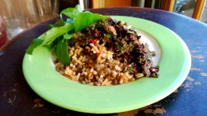 Recipe: North African Brown Rice and Lentils with Gremolata