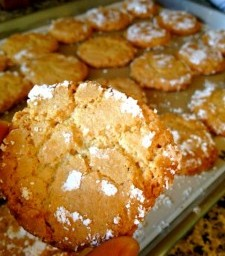 Recipe: Ricciarelli Cookies with Orange Zest