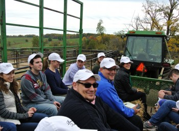 Johns Hopkins Students Visit Roseda Farm