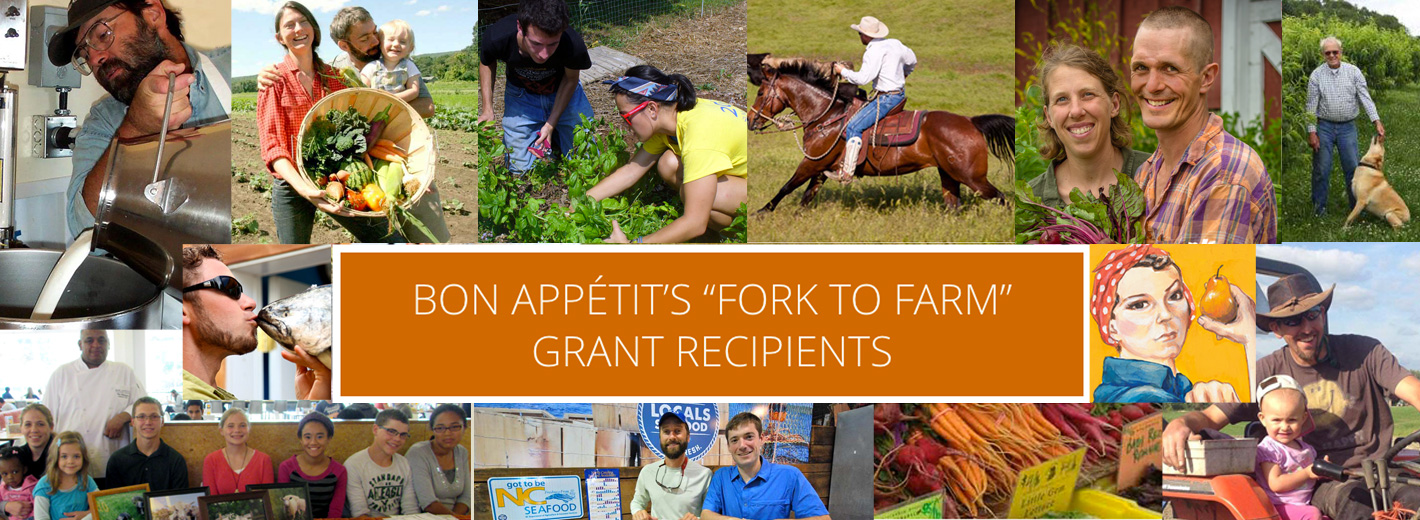 "Featured Image: Bon Appétit's ""Fork to Farm"" Grant Recipients"