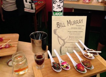 Answers to Bill Murray Menu Quiz