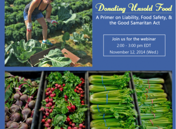 Join Our Waste Ace for Webinar on Donating Unsold Food