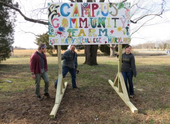 Fork to Farm Grant Update: Campus Community Farm at St. Mary's College of Maryland Finishes Greenhouse
