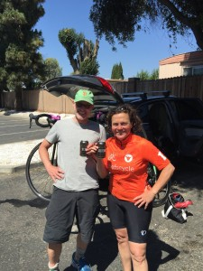 Thom and Traci after Day 1
