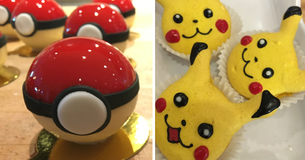 House-made Pokémon treats from Oracle's 300 Bakery in Redwood Shores, CA
