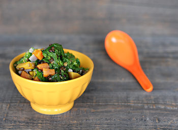 Recipe: Vegetable Soup with Mustard Greens and Black Lentils