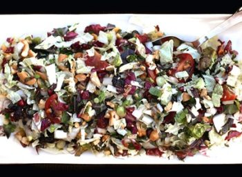 Recipe: Winter Chopped Salad with Sesame Vinaigrette