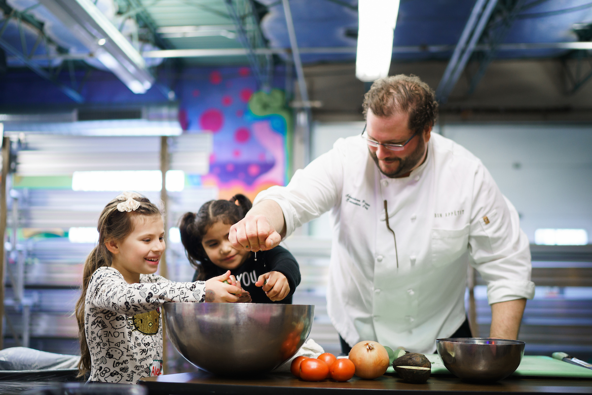 On The Road With Healthy Kids In The Bon Appetit Kitchen