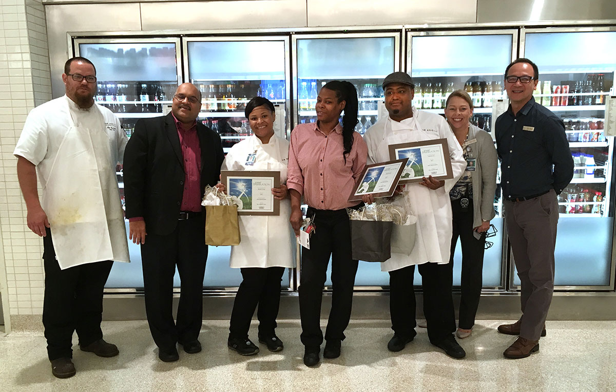 Phillipps 66 employees with their Heroes awards
