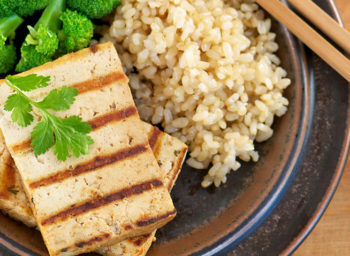 Recipe: Grilled Tofu with Peanut-Coconut Sauce