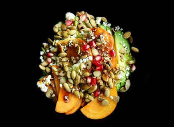 Recipe: Avocado, Persimmon, and Pomegranate Salad