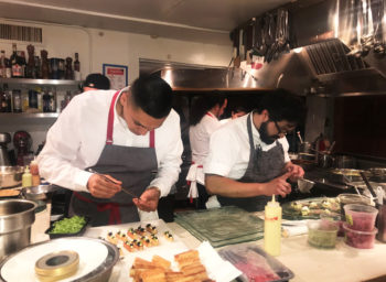 Commissary Chef Honors Mexican Heritage at the James Beard House
