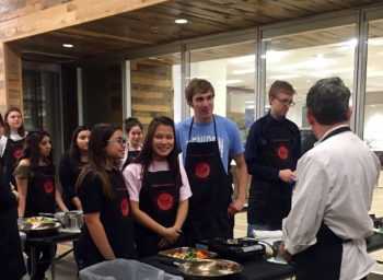 Denison Delivers Healthy Cooking Skills