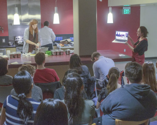 Seattle U Students Learn to Cook on a Budget