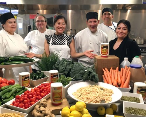 SAP Gets Saucy with Plant-Forward Cooking Class