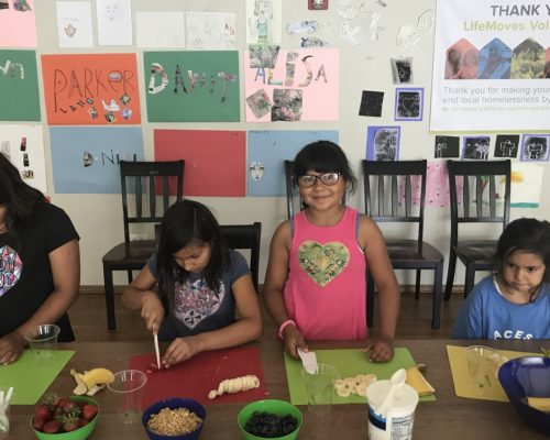 Healthy Kids Works with Homeless Kids through LifeMoves