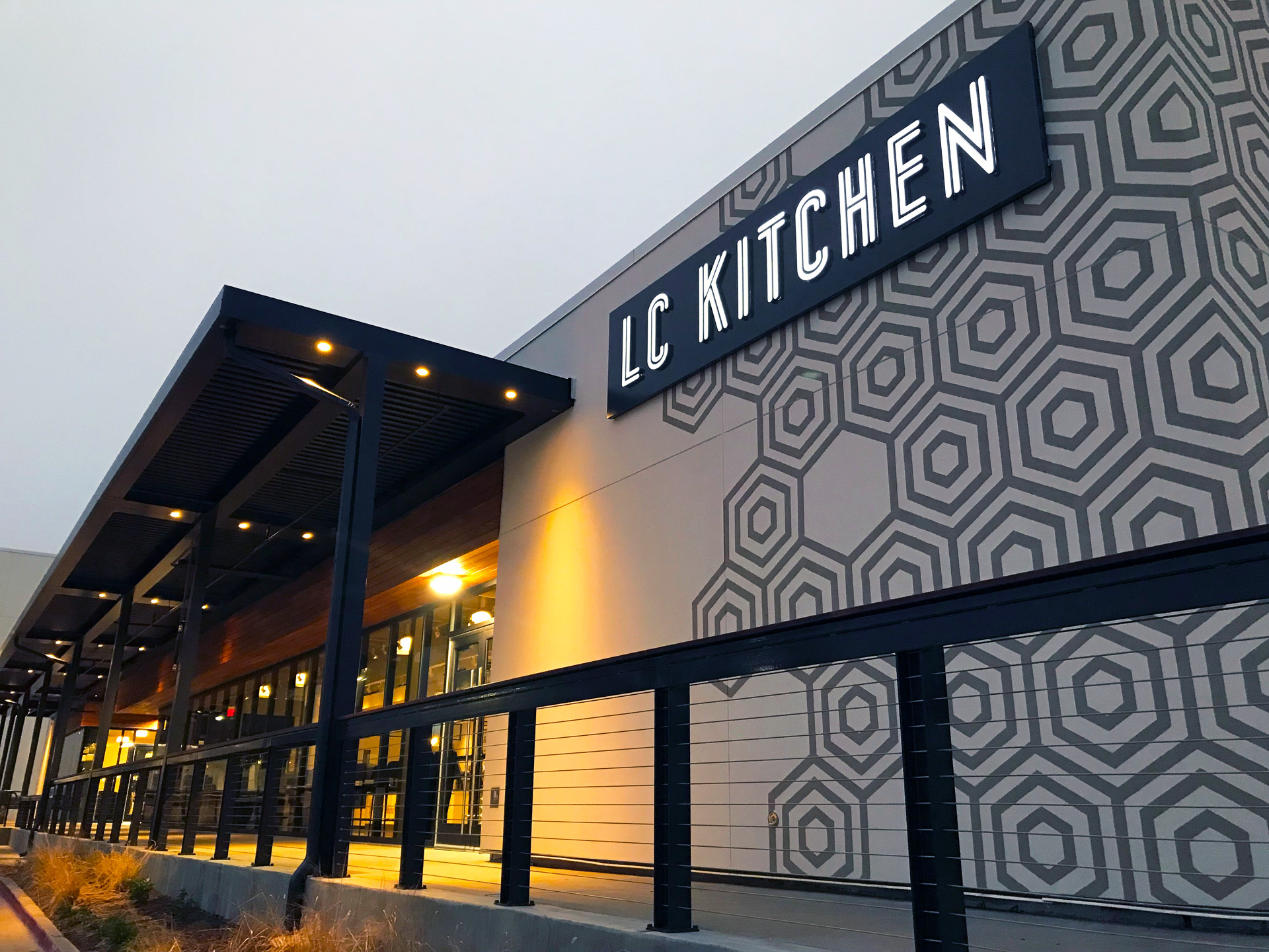 LC Kitchen exterior