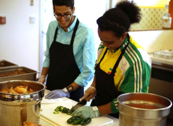 Case Western Fills Week with Sustainable Food Events